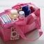กระเป๋า bag in bag ช่องแบ่งของใช้เด็ก มีสีฟ้า/ชมพู thumbnail 3