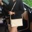 กระเป๋าสะพาย ปรับเป็นคลัชได้ สีครีม รุ่น KEEP Doratry shoulder &clutch bag thumbnail 3