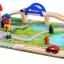บล็อกไม้สร้างถนนและสวนหย่อม Rail Overpass Set 40 ชิ้น thumbnail 3