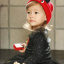 HT309••หมวกเด็ก•• / หมวกไหมพรมหูตั้ง (สีแดง) thumbnail 5