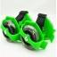 ล้อสเก็ตสวมรองเท้า Flashing Roller ล้อมีไฟ LED ปรับขนาดได้ตามวัย thumbnail 6