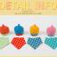 AP181••เซตหมวก+ผ้ากันเปื้อน•• / ดาว [สีเหลือง-ฟ้า] thumbnail 5
