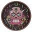 นาฬิกาหัวกระโหลก ทรงกลม Skull Wall Clock <พร้อมส่ง> thumbnail 1