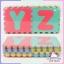 แผ่นโฟมรองคลาน EVA A-Z 26 แผ่น thumbnail 1