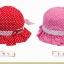 หมวกเด็กหญิง วัย 6-24 เดือน ลายจุด มีระบาย น่ารัก thumbnail 8