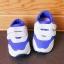 รองเท้าคัชชูเด็กเล็ก สีฟ้าเทาดาวแดง Sport ผ้าตาข่ายฟองน้ำนิ่ม (เท้ายาว 10-12.5 ซม.) thumbnail 8