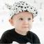 หมวกแก็ปเด็ก Devil ลายดาวสีขาวดำเท่ๆ สไตล์เด็กเกาหลี thumbnail 5