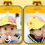 HT370••หมวกเด็ก•• / หมวกแก็ป STAR (สีเหลือง) thumbnail 2