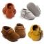 รองเท้าเด็กหนังผ้านิ่มแต่งพู่ สไตล์เด็กยุโรป ROMIRUS สำหรับเด็กวัย 0-18 เดือน thumbnail 4