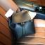 กระเป่า ZARA Detail Backpack กระเป๋าเป้รุ่นแนะนำวัสดุหนังเรียบสีดำอยู่ทรงสวยคุณภาพดี ดีไซน์เรียบหรูใช้ได้เรื่อยๆ thumbnail 16