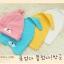 หมวกหูยาว หน้าหมี สีชมพู thumbnail 3