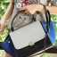Fashion Outlet Style CL Medium Trapeze White with Blue and Black thumbnail 2