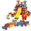 ของเล่นบล็อคตัวต่อเลโก้ชิ้นใหญ่สำหรับเด็กเล็ก แบบถังหิ้ว 180 ชิ้น thumbnail 1