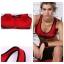 สปอร์ตบรา ชุดกีฬาผู้หญิง รุ่นซิปหน้า รองรับแรงกระแทกระดับ 4 ใส่สบาย - สีแดง thumbnail 6