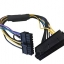 24 Pin to 18 Pin Power Supply Cable For HP Z420/Z620 Workstation thumbnail 1