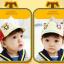 HT361••หมวกเด็ก•• / หมวกแก็ป Mouse (สีเบจ) thumbnail 3