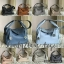 กระเป๋าหนังแท้100% Genuine Coated Leather Togo - Style Lindy 26 Silver material thumbnail 7