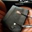 กระเป๋า GUESS SAFFIANO SHOPPER BAG สีดำ กระเป๋าสะพายทรง Tote thumbnail 5