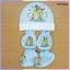 เซ็ตชุดหมวก ถุงมือ ถุงเท้า ผ้า TK thumbnail 4