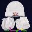 ชุดหมวก ถุงมือ ถุงเท้า ผ้าลิปเข้าชุดกัน (แพ็ค 6 เซ็ต) thumbnail 1