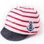 หมวกแก็ปเด็กอ่อน 0-12 เดือน ผ้ายืดเนื้อนิ่ม ลายทหารเรือ thumbnail 2