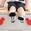 SK014••ถุงเท้าเด็ก•• โบว์ดำ (พื้นดำ-ข้อสั้น) thumbnail 6