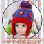 หมวกไหมพรมสำหรับเด็ก หมวกกันหนาวเด็กเล็ก ลายน้องหมี (มี 5 สี) thumbnail 8