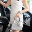 กระเป๋า KEEP saffiano leather Mini office bag สีเทา สวย น่ารัก ขนาดตอบทุกโจทย์การใช้งาน thumbnail 12