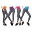 กางเกงออกกำลังกาย ผู้หญิง เล่นฟิตนิส โยคะ ขายาว - สีม่วง thumbnail 9