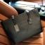กระเป๋า GUESS SAFFIANO SHOPPER BAG สีดำ กระเป๋าสะพายทรง Tote thumbnail 4