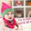 AP070••เซตหมวก+ผ้ากันเปื้อน•• / [สีชมพู] ดวงดาว thumbnail 1
