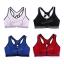 สปอร์ตบรา ชุดกีฬาผู้หญิง รุ่นซิปหน้า รองรับแรงกระแทกระดับ 4 ใส่สบาย - สีน้ำเงิน thumbnail 9