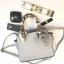 กระเป๋า KEEP saffiano leather Mini office bag สีเทา สวย น่ารัก ขนาดตอบทุกโจทย์การใช้งาน thumbnail 2