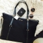 กระเป๋า MANGO Black Nylon Shopping Bag 2016 thumbnail 3