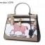 กระเป๋าหนังแท้ทรงยอดฮิต สไตล์Hermes kelly paint original size fashion bag thumbnail 5