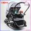 รถเข็นเด็ก ROCKER Camera Stroller ปรับโยกได้ พร้อมหลังคาเคลือบกันน้ำ และ UV thumbnail 1