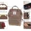 กระเป๋า Anello Nylon Mini Square สี Khakhi ราคา 1,390 บาท Free Ems thumbnail 13