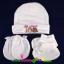 ชุดหมวก ถุงมือ ถุงเท้า ผ้าลิปเข้าชุดกัน (แพ็ค 6 เซ็ต) thumbnail 2