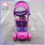 รถ 3 ล้อถีบทรงเวสป้า สีม่วง ส่ง EMS ฟรี thumbnail 9