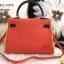 กระเป๋าหนังแท้ทรงยอดฮิต สไตล์Hermes kelly paint original size fashion bag thumbnail 3