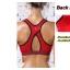 สปอร์ตบรา ชุดกีฬาผู้หญิง รุ่นซิปหน้า รองรับแรงกระแทกระดับ 4 ใส่สบาย - สีแดง thumbnail 7