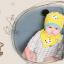 AP211••เซตหมวก+ผ้ากันเปื้อน•• / แพนด้า [สีเหลือง] thumbnail 2