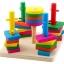 ของเล่นไม้ บล็อคไม้สวมหลัก เสริมพัฒนาการ thumbnail 1