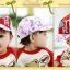 HT371••หมวกเด็ก•• / หมวกแก็ป STAR (สีชมพู) thumbnail 5