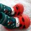 รองเท้าถุงเท้าพื้นยางหัดเดิน ลายเต่าทอง size 19-23 thumbnail 5