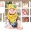 Set หมวกเด็กอ่อน+ผ้ากันเปื้อนสามเหลี่ยม Yummy Vegetable วัย 3-24 เดือน thumbnail 14