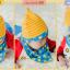 AP181••เซตหมวก+ผ้ากันเปื้อน•• / ดาว [สีเหลือง-ฟ้า] thumbnail 3