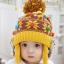 หมวกไหมพรมสำหรับเด็ก หมวกกันหนาวเด็กเล็ก ลายน้องหมี (มี 5 สี) thumbnail 5