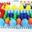 กระดานปักหมุดโมเสก 296 Pcs Creative Mosaic for Smart Kids thumbnail 3