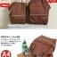 กระเป๋าเป้ Anello polyurethane D.Brown Mini thumbnail 4
